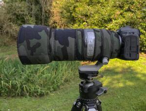 Canon RF 100 500 Neoprene lens protection Premium range fabric