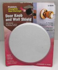 "U 9244 WALL PROTECTOR 5"" Textured Self Adhesive White Vinal NEW"