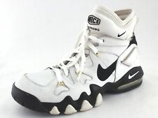 NIKE Force Air 2 Strong Basketball Shoes White Black 311088-101 Men's US 9/42.5