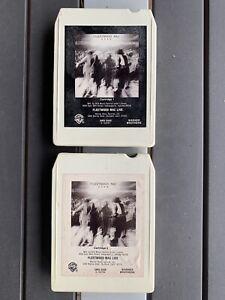 Fleetwood Mac Live- 8 Track Tape Cartridges