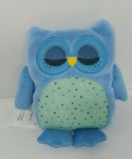 Owl Friend Microwaveable Plush Heat-able Lavender aromatherapy blue comfort toy