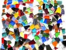 200g of colorful STAINED GLASS precut MOSAIC PIECES WOW