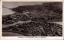 Weymouth as Photographed from an Aeroplane # 2 by R.E. Houlden, Weymouth.