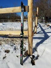 Rossignol Slalom Sts Equipe Carbon Skis Us Ski Teams Mark 48 Bindings Vintage