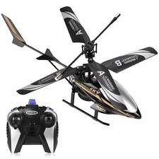 BLK LED Head Light Outdoor RC Helicopter Toy GIFT Remote Control 2 Channel ECP