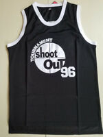 Above The Rim #96 Birdie Tupac Shakur Black Basketball Jersey All stitched