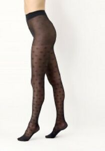 Oroblu Eco Fashion Recycled Yarn Tights gritty dot pattern of recycled yarn