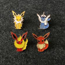 Eevee Lovely Mini Harajuku Pokémon Pokemon Pet Enamel Brooch Badge Pins Anime