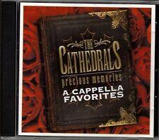 """THE CATHEDRALS....""""PRECIOUS MEMORIES""""....""""A CAPPELLA FAVORITES""""....OOP GOSPEL CD"""