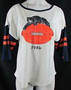 Chicago Bears NFL Starter Women's 3/4 Sleeve T-Shirt