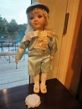 Jared Doll Victoria Impex Corporation By Cindy M. McClure Porcelain Hand Collect