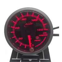 Racetech Oil Pressure Gauge Amber 52mm PSI with audible Alarm