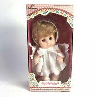 """Vintage 1970s Cuddlekins 9"""" Tall Doll By eg (Goldberger Doll Manuf. Co) #3032-8"""