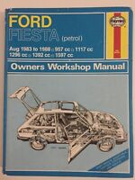 Haynes - Ford Fiesta / Aug 1983 to 1988 / (Petrol) Owners Workshop Manual