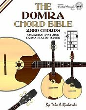 THE DOMRA CHORD BIBLE 1,728 CHORDS (NEW 2017 EDITION)
