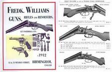 Williams, Fredk, Birmingham, UK 1912