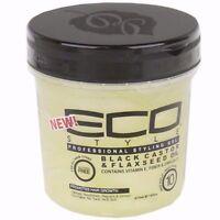 ECO Styler Black Castor - Flaxseed Oil Gel 16 oz