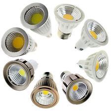 LED Regulable COB Luces de foco 6w 9w 12w 15w E27 ES E14 GU10 MR16 gu5.3