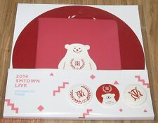 TVXQ! 2014 SMTOWN SM TOWN LIVE OFFICIAL GOODS STATIONERY SET SEALED