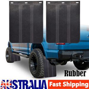 RUBBER FENDER FLARE MUD FLAP MUDGUARD FOR CAR TRUCK UTE  SUV VAN 4X4 4WD MUDFLAP