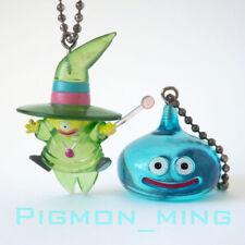 Square Enix SQEX Toys Dragon Quest Crystal Monsters Slime & Sizarmage Keychain B