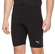 Puma Core Run Mens Short Running Tights - Black