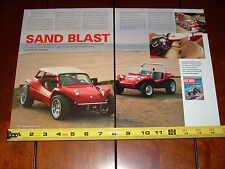 BRUCE MEYERS MANX DUNE BUGGY - ORIGINAL 2003 ARTICLE