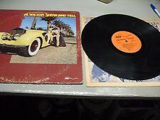 AL WILSON  SHOW AND TELL ORIG. 1973 ROCKY ROAD  RR 3601   SOUL  R&B  NICE