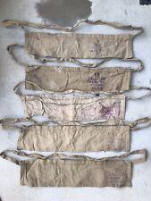 One (1) Original Wwii British Enfield Amunition Bandolier 1944-47 Repack 1918