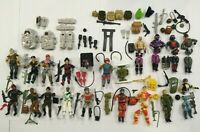 1980's GI Joe Figures,Weapons and Accessory LOT w/ Extras Vtg Hasbro