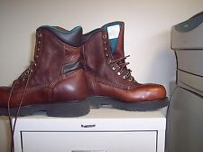 CAROLINA COMFORT CRAFTED FOOTWEAR STEEL TOE SAFETY BOOT SIZE 8D