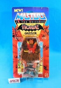 Vintage 1984 Grizzlor Figure Masters of the Universe MOTU Evil Horde Mattel NEW