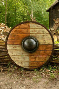 Viking Armour Designer 24'' Shield Fully Functional Medieval Decor Gift Costume
