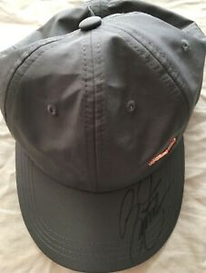 Rickie Fowler autographed signed autograph gray Puma golf cap hat IN PERSON COA