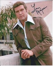 Lee Majors Six Million Dollar Man autographed 8x10 photo with COA by CHA