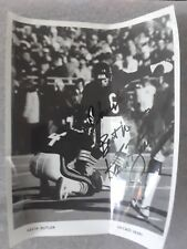 "Kevin Butleer Chicago Bears #6 Hand Signed Autographed 8x10 B&W ""To Chuck"""