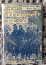 Civil War Book GENERAL AVERELL SALEM RAID Union Railroad Raid