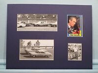 Saluting NASCAR Great - Ned Jarrett & his autograph