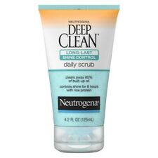 2 Neutrogena Deep Clean Long-Last Shine Control Daily Scrub 4.2 Fl. oz