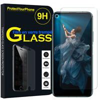 "Vitre Protection Écran Film Verre Trempe Huawei Honor 20/ Huawei nova 5T 6.26"""