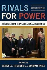 Rivals for Power: Presidential-Congressional Relations, , Very Good Book