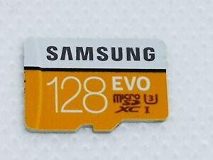 Samsung Evo Plus MB-MC128GA/AMZ 128 GB Class 10 MicroSD Card with Adapter
