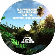Natürliche Geräusche 10 HEIßER DSCHUNGEL - Naturklänge Natural Nature Sounds CD