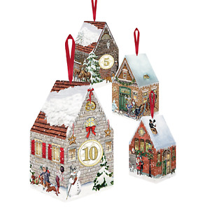 Christmas House Hanging Advent Decorations
