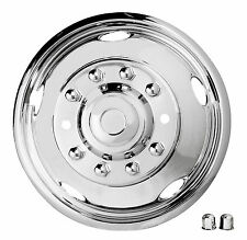 """NEW 19.5"""" 2005-2014 FORD F450 / F550 Dually Stainless Steel Wheel Covers 10 lug"""