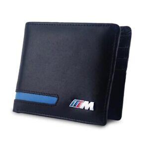 BMW M Sport Leather wallet Driving Licence Holder Wallet Black
