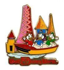 Disney Pin: WDW Retro Walt Disney World Fantasyland with Huey, Dewey & Louie