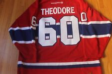 VINTAGE JOSE THEODORE HOCKEY JERSEY MONTREAL CANADIENS XL RARE GOALIE SOLD OUT