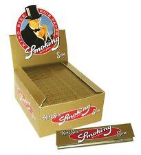 SMOKING CARTINA ORO SLIM LUNGA GOLD.BOX DA 50 BLOCCHETTI DA 33 CARTINE