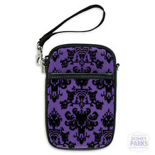 Disney Parks Haunted Mansion Wallpaper Phone Case Smartphone Purse Bag 2 Straps